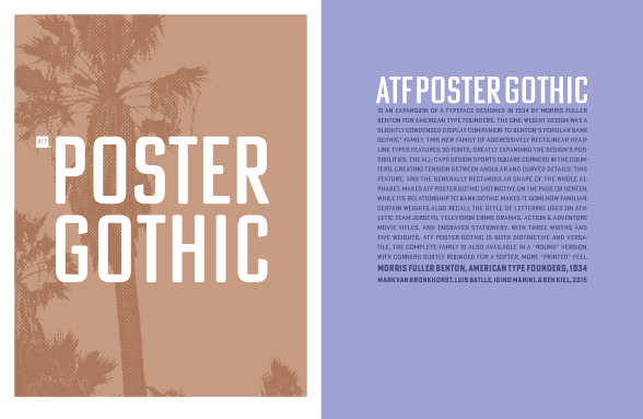 Download ATF Poster Gothic PDF Specimen